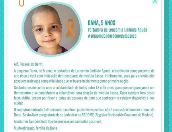 Campanha cadastro doadores de medula