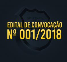 EDITAL DE CONVOCAÇÃO Nº 001/2018
