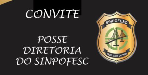 Posse Diretoria SINPOFESC – 13/11