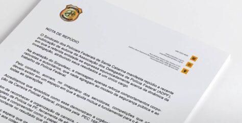 NOTA DE REPÚDIO À DECLARAÇÃO DA ADPF