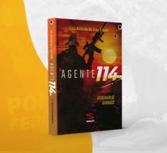 """LIVRO """"AGENTE 114"""", DO POLICIAL LUIZ ANTÔNIO PINELLI, ESTÁ À VENDA NO SINPOFESC"""