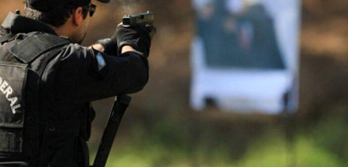 polícia federal tiro